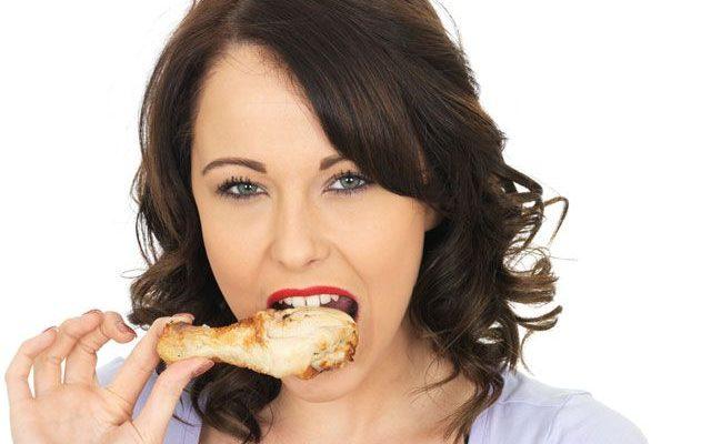 Kaip teisingai valgyti vištieną